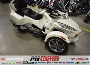 2012 Can-Am Spyder RT Limited Liquidation hivernale 250 motos