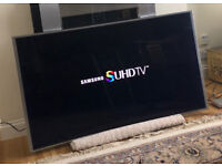 55in Samsung Curved SUHD 4K Nano Crystal Smart LED TV Wi-Fi Freeview HD & FreeSat HD [NO STAND]