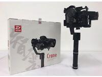 Zhiyun Crane V2 3-Axis Brushless Handheld Gimbal Stabilizer for DSLR Cameras