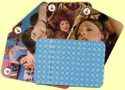 Spielkarten playing cards Pin-Up adult Nude Erotic Sexy erotik Denmark um 1975