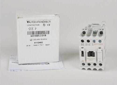 AUTOMATION DIRECT GH15BN-3-01B  GH15  SERIE  IEC CONTACTOR 9A