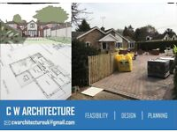 LOW COST ARCHITECTURAL DRAWINGS, PLANNING APPLICATION, ARCHITECT - CAD PLANS architect services