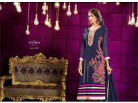 Akiraa Vol-7 Anarkali Heavy Embroidery Salwar Kamiz