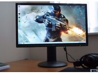 """AOC G2460PG 24"""" 144Hz Full HD G SYNC LED Gaming Monitor with 1 ms Response Time"""