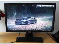 """24"""" BenQ XL2420T 120Hz 3D-ready LED Gaming Monitor 1ms HDMI"""