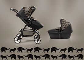 Silver cross special edition elephant travel system