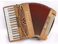 New - Manfrini Artisan - Real Cherry Wood - 34/96 - 3 Voice - Hand Made Reeds