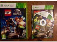 Xbox 360 Lego Jurassic World Game