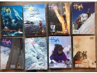 HIGH magazine. Climbing and mountaineering 82 issues.
