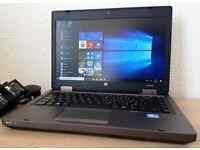 "High Spec HP Intel Core i5-3210 Laptop,8GB RAM,14"" Led,USB 3.0,Wifi/Webcam,Windows 10 Pro 64 Bit"