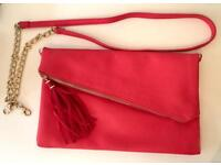 Accessorize Pink /Coral Ladies Cross body (clutch bag)