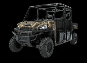 2018 Polaris Ranger Crew XP 1000 EPS PURSUIT® CAMO