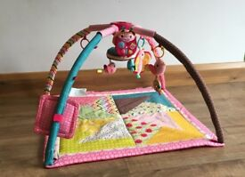 Play mat - Infantino Go GaGa Deluxe Twist and Fold Gym - Pink