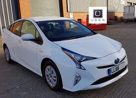 PCO CAR HIRE RENT | NEW 2016 TOYOTA PRIUS - 66plate | ****£200 WEEK!!!!****UBER READY**