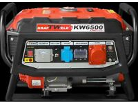 Generator Kraftwele KW6500 3 Phase LIMITED Petrol 4,8 KW