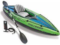 BRAND NEW Intex Challenger Inflatable K1 Kayak