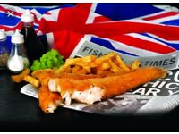 15k -20k Experience Full/Part time Fish and chip/pizza shop staff required