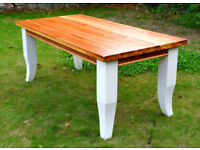 Farmhouse Kitchen Dining Table 180cm by 90.5cm Newly Refurbished