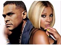 2x Mary J Blige - & Maxwell - The O2 Arena, London Fri 28 Oct 2016 - BLOCK 112 - £120 each