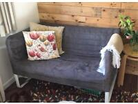 Grey KNOPPARP ikea 2 seater sofa