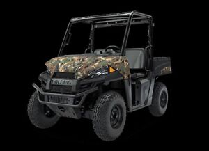 2018 Polaris RANGER EV LI-ION Pursuit® Camo