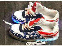 Illuminating shoes