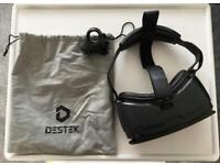 DESTEK V4 VR HEADSET - Hardly Used