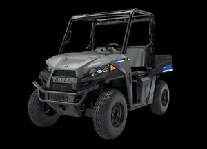 2018 Polaris Ranger EV Avalanche Gray