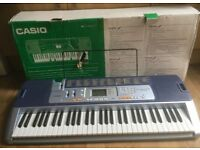 Casio Electronic Keyboard LK-110 With Key Lighting System.