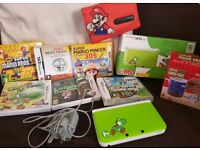 Nintendo 3DS XL yoshi special edition bundle