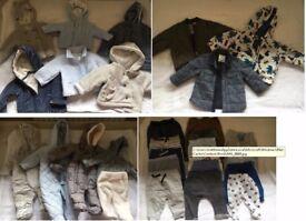 Baby Boy clothing and item bundle newborn - 9 months