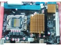 x58 motherboard LGA 1366 (supports core i7 and xeon cpu)