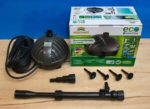 Garden fish pond pump 1500ltr eco fountain waterfall for Koi pond return jets