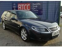 2006 (06 reg), Saab 9-5 2.0 T Vector 5dr Estate, AA COVER & AU WARRANTY AVAIL...