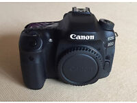 Canon EOS 80D. Body Only. As new. Boxed.
