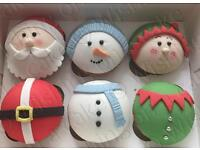 Wishing on a Cake - Christmas cakes, cupcakes, fudge and treats
