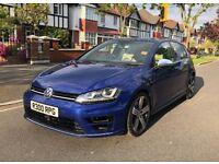 2016 RARE VOLKSWAGEN VW GOLF R 2.0 TSI LAPIZ BLUE 5 DOOR/ PERFORMANCE EXHAUST/ PRIVATE REG INCLUDED