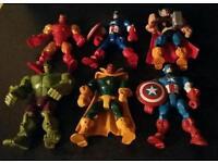 Avengers super heroes mashers x 6 figures