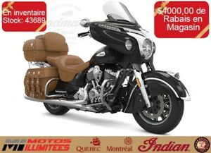 2017 Indian Motorcycles Roadmaster Classic Quantitee limitee dej