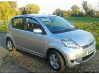 DAIHATSU SIRION 1.3 SE (5465) YES 5465 MILES ONE OWNER FULL HISTORY AS NEW CONDITION THROUGHOUT.