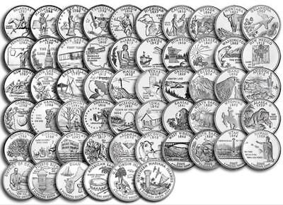 - 2009 State quarter set (The Territories)  All 6 coins Uncirculated Denver Mint