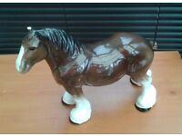 LARGE HORSE ORNAMENT