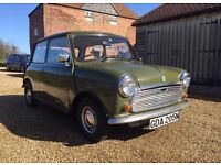 Classic Mini Austin 850 MK3 in rare Tundra Green