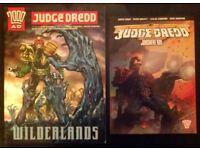 Judge Dredd 'Wilderness' & 'Judgement Day' Graphic Novels