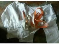 Rombo Karate suit 4 180cm. Plus 2 belts. 100% cotton.