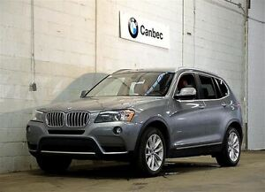 2013 BMW X3 xDrive35i | PREMIUM | TECHNOLOGY | EXECUTIVE