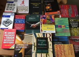 Business Books x17 (degree/A level etc)