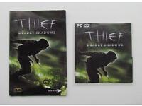 Thief Deadly Shadows, PC game, 1 CD, Eidos