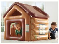 Step 2 Adventure Fort Inflatable Playhouse - ideal for indoor or outdoor fun! - Can Post