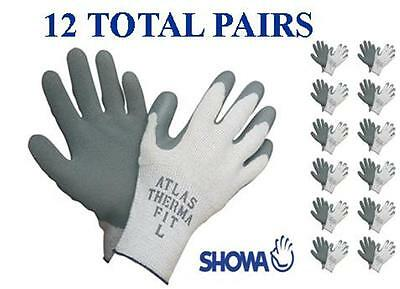 Showa 451 Atlas Therma Fit Insulated Winter Work Glove -12 Pair- Choose Mdlgxl